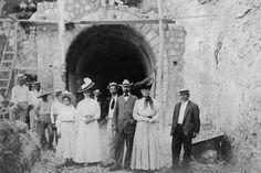 Túnel de Guajataca (1906)  Isabela, Puerto Rico. Tomado de Puerto Rico Historic Building Drawings Society