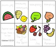 Fruit of the Spirit Bible Minibook