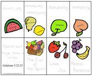 Fruit of the Spirit Bible Minibook