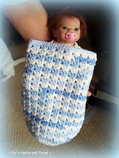 blue skies' preemie baby cocoon ~ free pattern crochet babi, preemi babi, dlys hook, blue sky, babi cocoon, blue skies, crochet cocoon pattern free, yarn, free crochet cocoon pattern