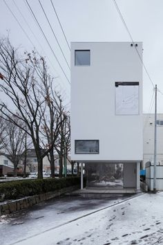White Collage by Keikichi Yamauchi #architect and associates | koji sakai