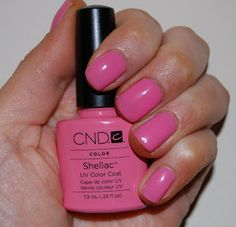 CND Shellac Gotcha. My new color today.