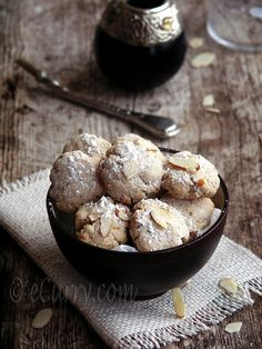 Ghoriba (Moroccan Style Cookies)