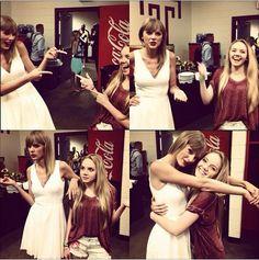Taylor Swift and Danielle Bradbery