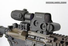 eotech g33 and exps3 side magnifi, firearm, militari, stuff, ar15, eotech switch, tactic gear, eotech g33, gun