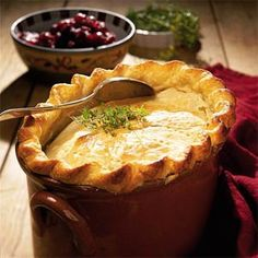 Chicken Pot Pie Recipe | MyRecipes.com