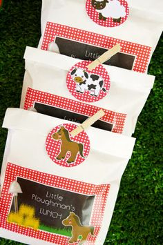 Printable Barnyard Birthday Party Decorations!!