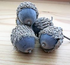 blue acorns