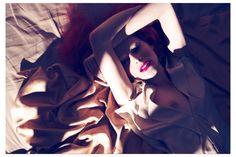 Leva Laguna for Vogue Italia Beauty, July 2011.  Follow Camilla's latest work on Facebook and Twitter.