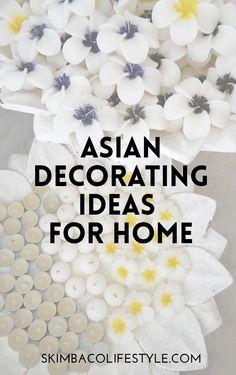 Asian fusion decorat