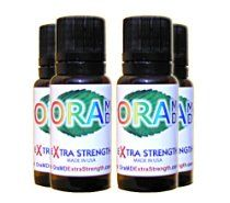 OraMD Extra Strength 4-Pack Oral Hygiene for Gum Problems, Fluoride Free