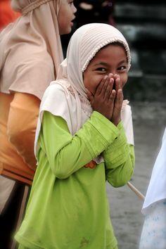 Girl in Indonesia