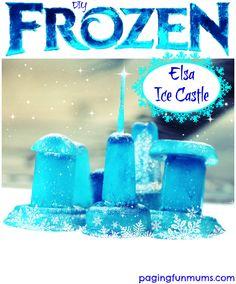 DIY Frozen Elsa Ice Castle
