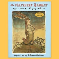 """Velveteen Rabbit (1922)  Favorite quote:  """"You become. It takes a long time. That's why it doesn't often happen to people who break easily or have sharp edges, or have to be carefully kept. Generally, by the time you are Real, most of your hair has been loved off and your eyes drop out and you get loose in the joints and very shabby. But these things don't matter at all, because once you are Real you can't be ugly, except to people who don't understand."""" The Velveteen Rabbit (1922)"""