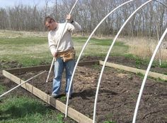 How to Build an Inexpensive Hoop-Style Greenhouse   Alberta Home Gardening