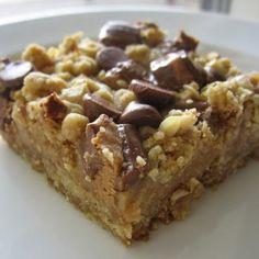 Peanut Butter Oatmeal Dream Bars - Recipes, Dinner Ideas, Healthy Recipes & Food Guide