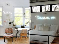 DIY HOME: NEON SIGN ART #DIY #Howto #Doityourself #love #like #awesome