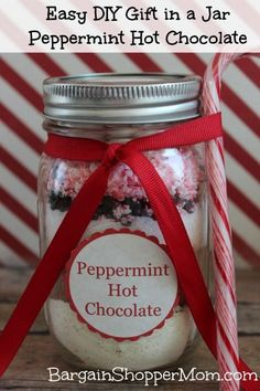 Easy DIY Peppermint Hot Chocolate