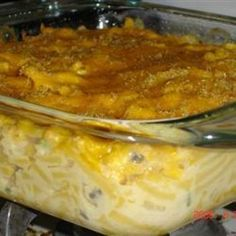 Macaroni Tuna Casserole  #