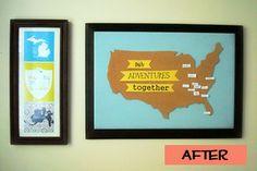 travel map #crafts