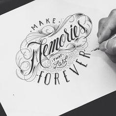 Hand Type Vol. 17 by Raul Alejandro, via Behance