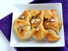 Honey Cream Cheese Croissants