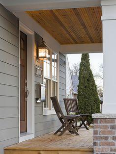 Pretty home exterior entryway with lantern lighting | Sicora, Inc.'s Design