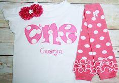 pink-and-white-polka-dot-birthday-one