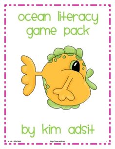 This packet is Oceans of Fun!  It contains 4 different literacy games centered around an ocean theme. There are games that teach sight words, sylla...