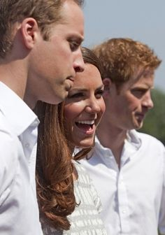 Young Royals-- William, Kate, Harry