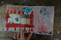 Art Journal Project with Wanda Marie Miller
