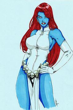 Mystique by JeffTrillaud (print image)