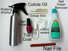At home manicures