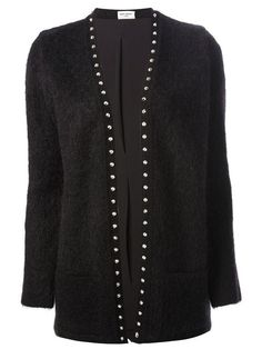 Shop Saint Laurent knit cardigan in Apropos The Concept Store from the world's best independent boutiques at farfetch.com. Over 1000 designers from 60 boutiques in one website.
