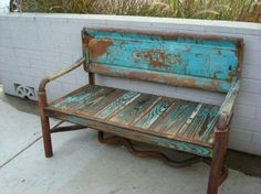 tailgate bench | Tailgate Bench. gmc trucks, idea, beds, patina, benches, chevrolet, old trucks, tailgat bench, tailgate bench