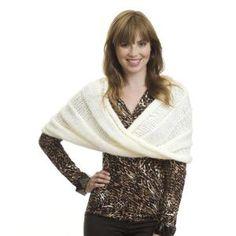 Moebius Wrap FREE knitting pattern by Caron