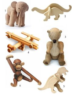 Beautiful wooden toys.