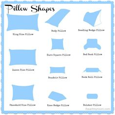 Common Decorative Pillow Sizes : Pillows Sizes Room Ornament