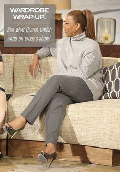 Queen Latifah's Wardrobe Wrap-up 11.05.13