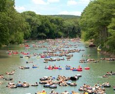 floating the river in texas