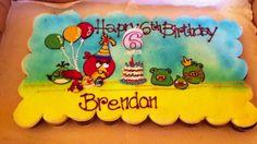 Angry Bird Cupcake Cake