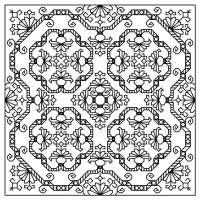 free chart blackwork craft, needlework, crossstitch, blackwork inspir, free chart, cross stitch, free blackwork, blackwork pattern, blackwork embroideri