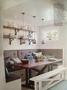 dining areas, dining rooms, kitchen booth, bench, kitchen tables, breakfast nooks, banquette seating, kitchen nook, dining nook