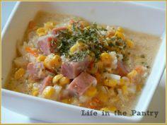 crock pot, pantri, crockpot recip, dinner recip, chowders, corn chowder, cooker recip, soup, crockpot corn