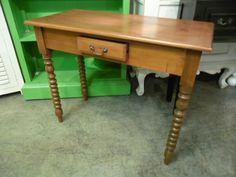 """Vanity Table  T018 - $127  37.5""""W x 17""""D x 30""""H  #NadeauNashville"""