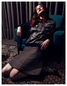 visual optimism; fashion editorials, shows, campaigns & more!: sweet 60ies: lena n by stefano moro van wyk for madame germany september 2014