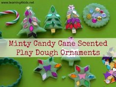 Christmas Play Dough Ornaments