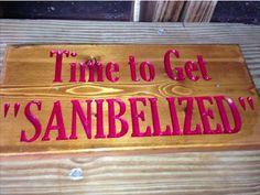 "Time to Get ""Sanibelized"""