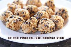Gluten Free, No Bake Energy Bites | 5DollarDinners.com #gf #glutenfree
