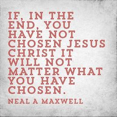 Jesus Christ is the Choice